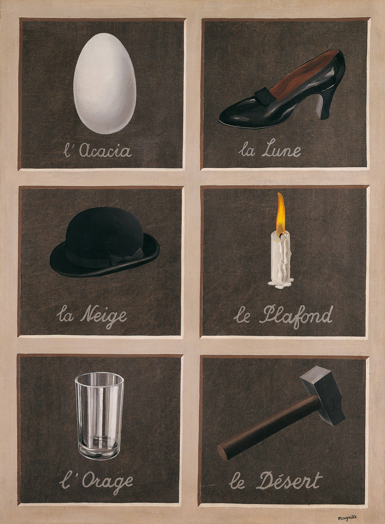 The key to dreams alexanderstorey for Rene magritte le faux miroir