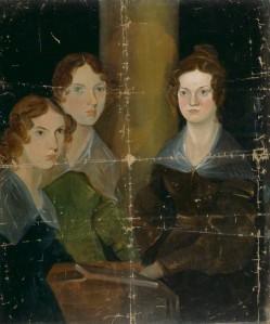 NPG 1725; The BrontÎ Sisters (Anne BrontÎ; Emily BrontÎ; Charlotte BrontÎ) by Patrick Branwell BrontÎ