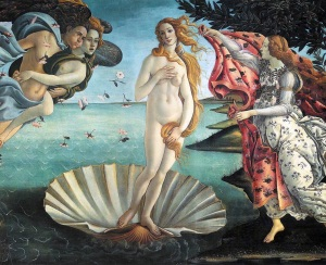 Sandro BOTTICELLI - la naissance de Venus