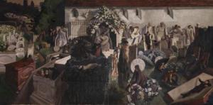 The Resurrection, Cookham 1924-7 Sir Stanley Spencer 1891-1959 Presented by Lord Duveen 1927 http://www.tate.org.uk/art/work/N04239